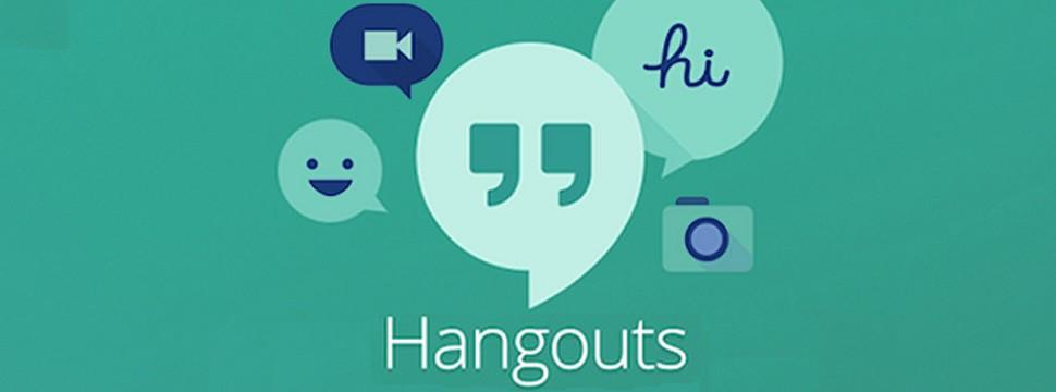 Hangouts se destaca por suporte a videoconferências