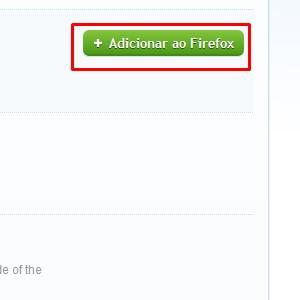 """4-Após encontrar a extensão desejada, clique em """"adicionar no Firefox"""", para concluir o procedimento no navegador."""