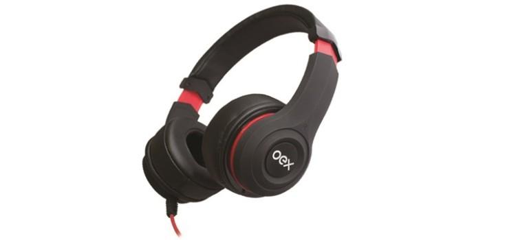 Por R$ 139,90, headset da OEX é ideal para quem quer apostar em custo-benefício