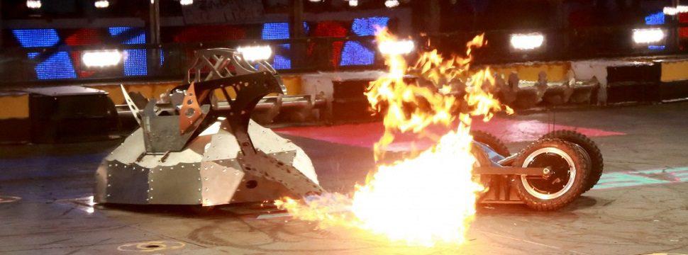 Conheça o BattleBots, o campeonato mundial de luta entre robôs