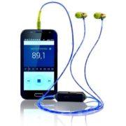 Por R$ 110, fone de ouvido da Multilaser vem com cabo que brilha no escuro