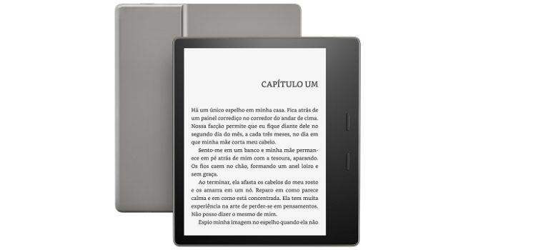 Por R$ 1.149, Novo Kindle Oasis é à prova d´água e tem tela de 7 polegadas