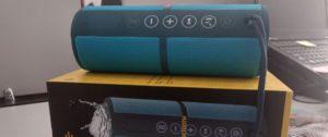 Testamos: por R$ 330, caixa de som Pulse é resistente à água e dura mais de cinco horas