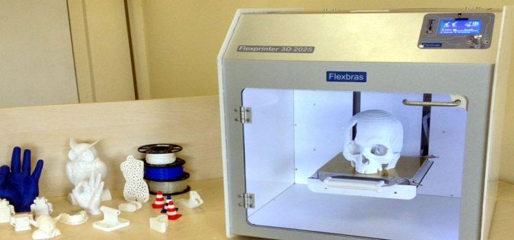 Impressora 3D produz estruturas para ajudar na recuperação de pacientes com sequelas nos ossos