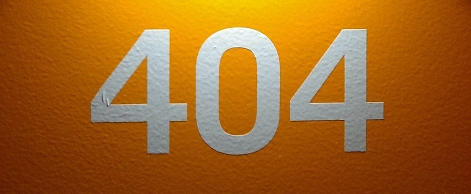 Projeto usa páginas de Erro 404 para ajudar na busca por pessoas desaparecidas