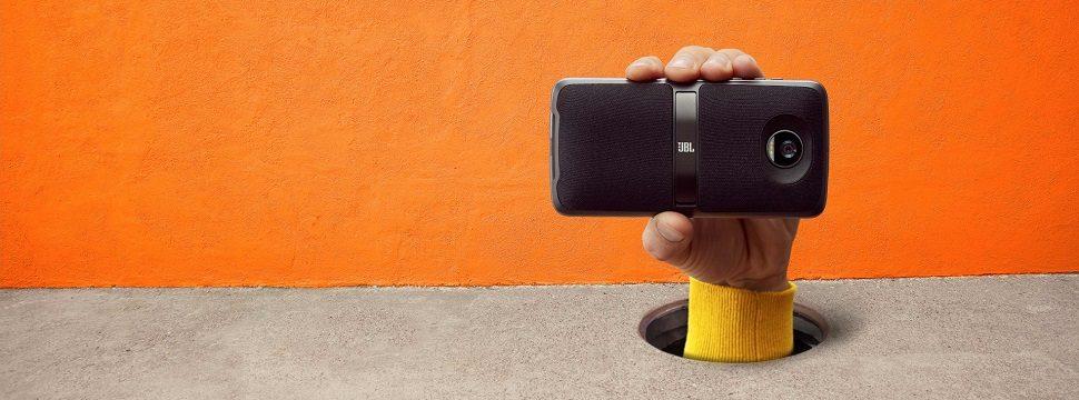 Testamos: Snap JBL Soundboost 2 é caixa de som potente compatível com Família Moto Z