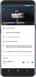 Nova interface do WhatsApp Business
