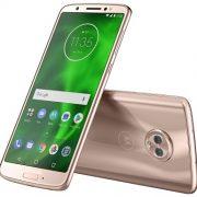 Moto G6: celular da Motorola ganha versão ouro rosé por R$ 1.499