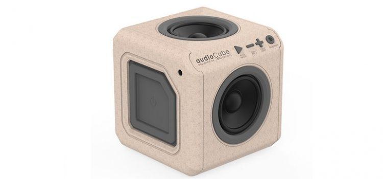 Testamos: Cara, caixa de som bluetooth AudioCube WOODS agrada pelo design