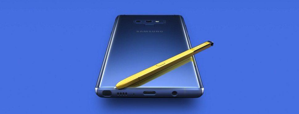 Lançamento da Samsung: Galaxy Note9 chega ao mercado com câmera inteligente e nova S Pen