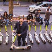 Startup traz serviço de patinetes compartilhados para São Paulo