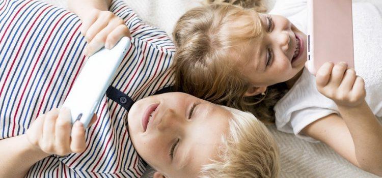 21% das crianças deixam de comer ou dormir por causa da internet