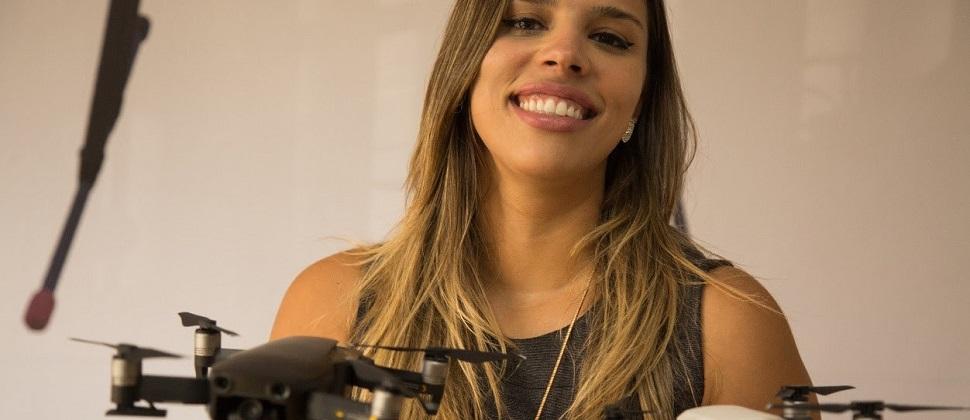 Cresce a presença de mulheres no mercado de drones no Brasil
