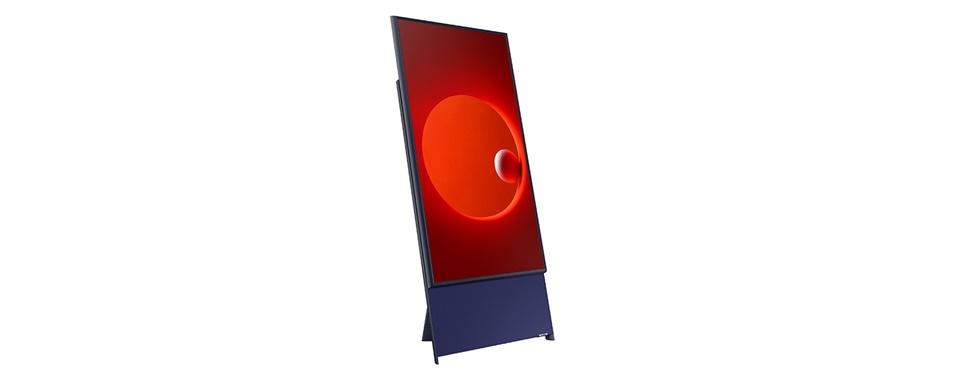 Samsung apresenta TV com tela vertical
