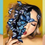 Artista do Instagram usa maquiagem para criar ilusões de ótica