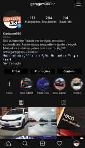 atualização do Instagram: modo noturno