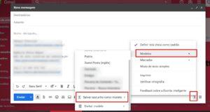 Caixa de entrada do Gmail: Modelos